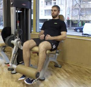 Бедрено разгъване / Leg Extensions