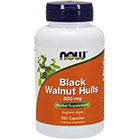 NOW Foods Black walnut hulls