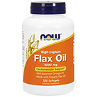 NOW Foods Flax oil (high lignan)