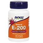 NOW Foods Витамин E-200 IU MT